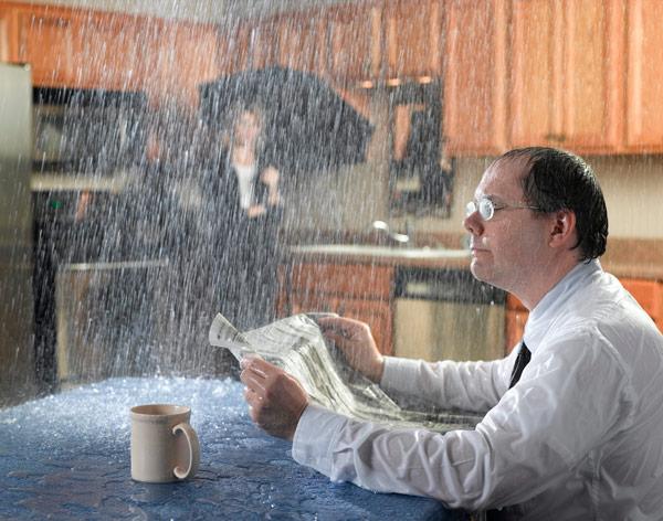 water damage insurance assessor